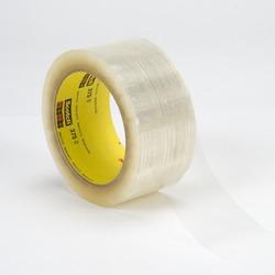 Scotch® Box Sealing Tape 375 Clear, 72 mm x 50 m 3M stock# 7000001198