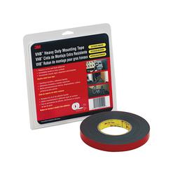 3M™ VHB™ Tape 5952 Black Small Pack, 1 in x 36 yd 45.0 mil