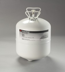 3M™ Scotch-Weld™ Hi-Strength 90 Cylinder Spray Adhesive Clear, Large Cylinder (Net Weight 28.8 Pounds) 3M stock# 7000028603