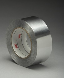 3M™ Aluminum Foil Tape 425 Silver US, 2 in x 60 yd 4.6 mil