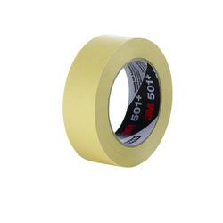 3M™ Specialty High Temperature Masking Tape 501+ Tan, 24 mm x 55 m 7.3 mil Bulk 3M stock# 7000138486