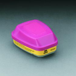 3M™ Organic Vapor/Acid Gas Cartridge/Filter 60923, P100 Respiratory Protection 3M stock# 7000029640