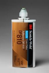 3M™ Scotch-Weld™ Low Odor Acrylic Adhesive DP810 Tan, 400 mL