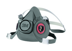 3M™ Half Facepiece Reusable Respirator 6300/07026(AAD), Respiratory Protection, Large 3M stock# 7000001934