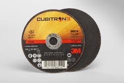 3M™ Cubitron™ II Cut-Off Wheel T1 66514, 3 in x .035 in x 3/8 in, 25 per inner, 50 per case 7100094771