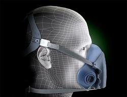 3M™ Half Facepiece Reusable Respirator 7502/37082(AAD), Respiratory Protection, Medium
