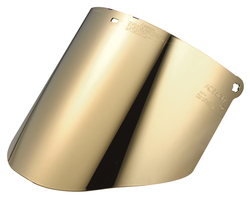 3M™ Total Performance Gold-coated Polycarbonate Medium Green Faceshield Window WCP96BG, Face Protection 82603-00000