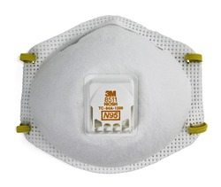 3M™ Particulate Respirator 8511, N95 3M stock# 7000002056