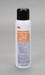 3M™ Foam & Fabric 24 Spray Adhesive Orange, 20 fl Ounce can, Net Weight 13.8 Ounce