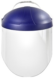 3M™ Ratchet Headgear H8A, Head and Face Protection 82783-00000, with 3M™ Clear Polycarbonate Faceshield WP96 3M stock# 7000127244