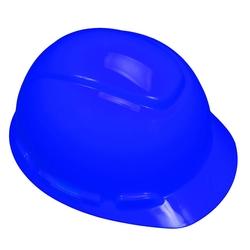 3M™ Hard Hat, Blue 4-Point Ratchet Suspension H-703R