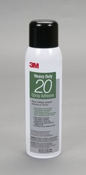 3M™ Woodworking Spray Adhesive 20 Clear, 20 fl Ounce can, Net Weight 13.8 Ounce