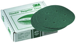 3M™ Hookit™ Paper Dust Free Disc 750U, 5 in x NH Die# 500FH 5 Holes 80 E-Weight