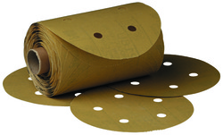 3M™ Stikit™ Gold Paper D/F Disc Roll 216U, 5 in x NH 5 Holes P400 A-Weight
