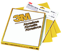 3M™ Production™ Resinite™ Gold Sheet 2546, 9 in x 11 in, P150A