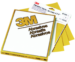 3M™ Production™ Resinite™ Gold Sheet 2548, 9 in x 11 in, P100A