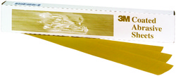 3M™ Production™ Resinite™ Gold Sheet, 02552, 3 2/3 in x 9 in, P220A