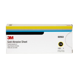 3M™ Production™ Resinite™ Gold Sheet, 02553, 3 2/3 in x 9 in, P180A