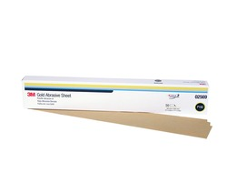 3M™ Production™ Resinite™ Gold Sheet, 02569, 2 3/4 in x 17 1/2 in, P150A