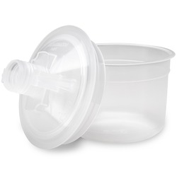 3M™ PPS™ Kit, 16028, 3 oz. Lids and Disposable Liners, 200u filters