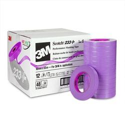 Scotch® Performance Masking Tape 233+ 26334, 18 mm x 55 m