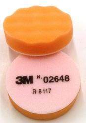 3M™ Finesse-it™ Buffing Pad 02648, 3-1/4 in Orange Foam 3M stock# 7000000636