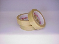 Scotch® High Temperature Tear Resistant Polyester Tape 2497ST Clear, 1 in x 60 yd