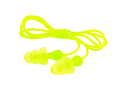 3M™ Tri-Flange™ Corded Earplugs, Hearing Conservation P3000 3M stock# 7000127187