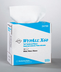 WYPALL* X60 TERI* Wipers - White, 126/box