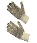 PIP GLOVE SEAMLESS PVC COATED DOUBLE SIDE DOTS COTTON KNIT