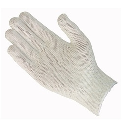 Uncoated Cotton/Polyester Knit Glove, 35-C104/L
