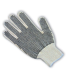 PVC Coated Cotton/Polyester Gloves, 37-C110PDD/L