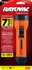 8 Lumen 2D Intrinsically Safe MSHA Certified and UL Listed Orange Flashlight