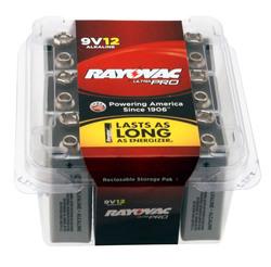Alkaline UltraPro Reclosable 9V 12-Pack