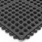 24/Seven Grit Shield CFR 3' x 3' Black