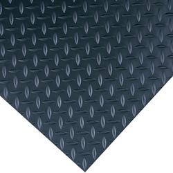 Diamond-Plate Switchboard Matting 4' x 75' Black