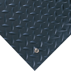 Electrically Conductive Runner Diamond-Plate 3' x 75' Black