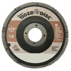 WEILER DISC 4/1-2 24GR 7/8 TIGER ABRASIVE FLAP DISC