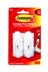 Command™ Wire Hooks 17068ES Medium White