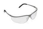 3M™ Metaliks™ Sport Protective Eyewear, 11343-10000-20 Clear Anti-Fog Lens, Nickel Frame