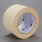 3M™ Paper Masking Tape 2209 Tan, 72 mm x 55 m