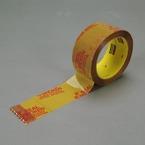 Scotch® Printed Message Box Sealing Tape 3732 Tan, 48 mm x 50 m