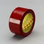 3M™ Polyethylene Tape 483 Red, 1 in x 36 yd 5.3 mil