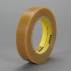 3M™ Electroplating/Anodizing Tape 484 Tan, 1/4 in x 36 yd 7.2 mil