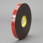 3M™ VHB™ Heavy Duty Mounting Tape 5952 Black, 45 mil, 3/4 in x 15 yd