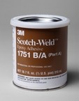 3M™ Scotch-Weld™ Epoxy Adhesive 1751 Gray B/A, 1 Pint Kit