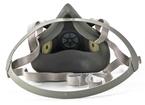 3M™ Half Facepiece Reusable Respirator 6300/07026(AAD), Respiratory Protection, Large
