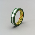 3M™ Riveters Tape 685 Transparent with Green Adhesive, 3/4 in x 36 yd