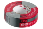 3M™ Duct Tape 6969 Silver, 48 mm x 54.8 m 10.7 mil, Individually Wrapped