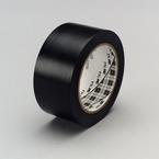 3M™ General Purpose Vinyl Tape 764 Black Plastic Core, 49 in x 36 yd